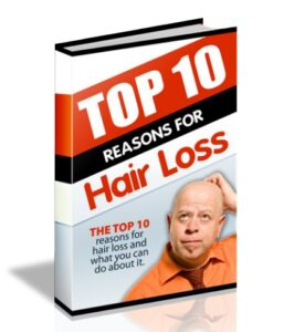 Free ebook for hair loss